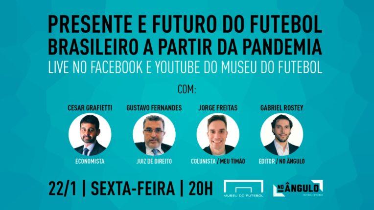 """Link permanente para: Live """"Presente e Futuro do Futebol Brasileiro a partir da Pandemia"""""""